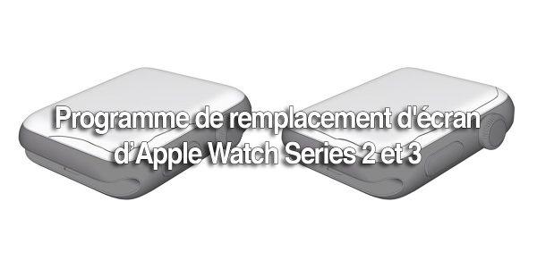 Écran Apple - programme de remplacement