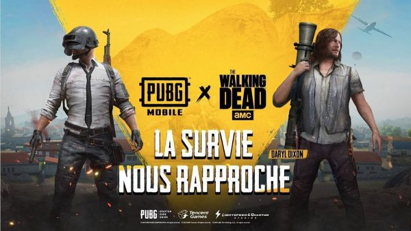 PUBG MOBILE & The Walking Dead