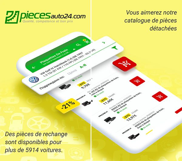 Piecesauto24 sur Android