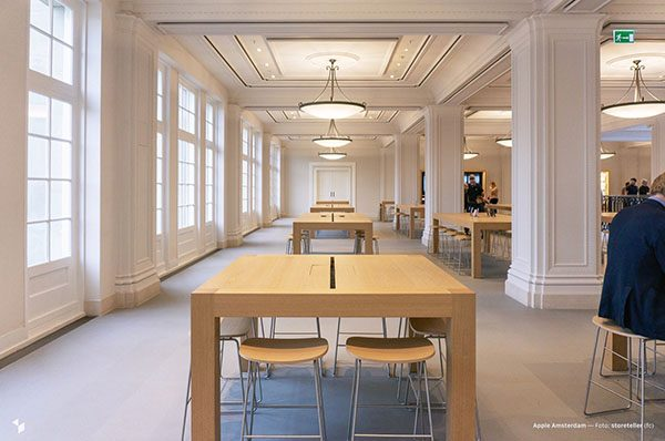 L'Apple Store d'Amsterdam