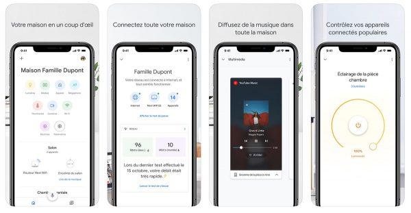 Google Home pour iOS