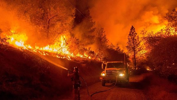 incendies de forêt en Californie