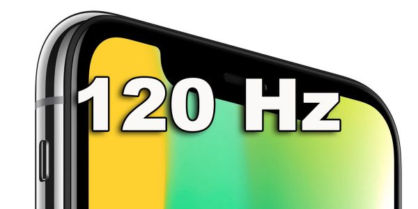 iPhone 2020 - écran 120 Hz