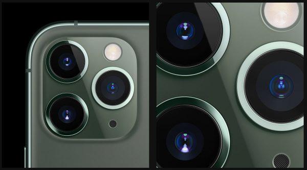 iPhone 11 - capteurs photo