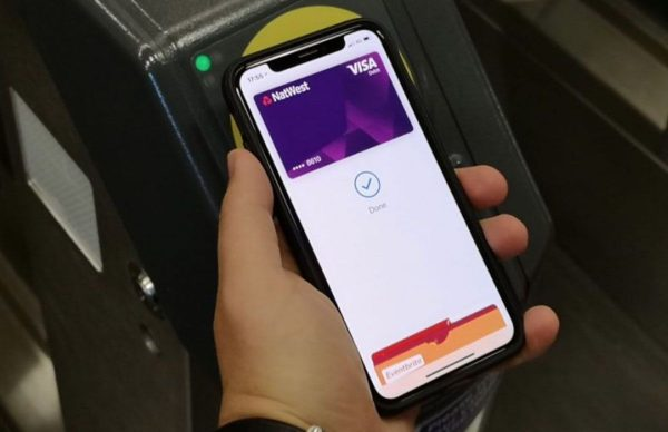 Apple Pay Express Transit à Londres