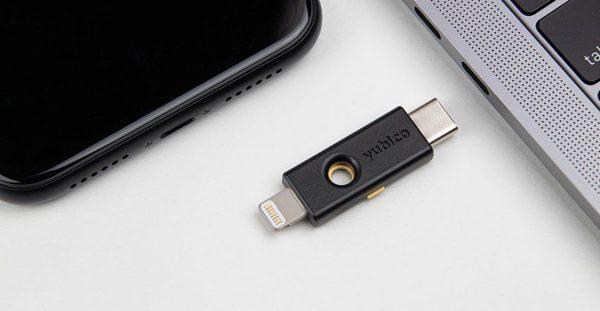 iOS 13.3 - clé de sécurité Safari