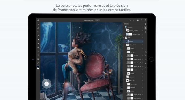 Photoshop pour iPad