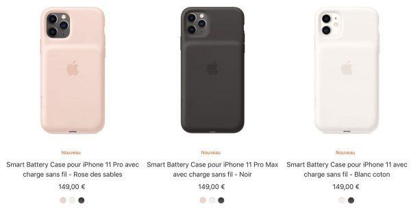 Smart Battery Case pour iPhone 11/Pro/Max