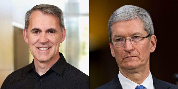 processeurs iPhone et iPad - Gerard Williams & Tim Cook