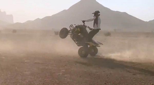 The Saudi desert riders