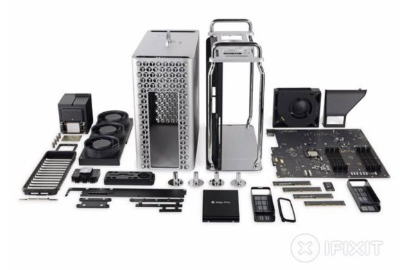 iFixit : démontage du Mac Pro 2019