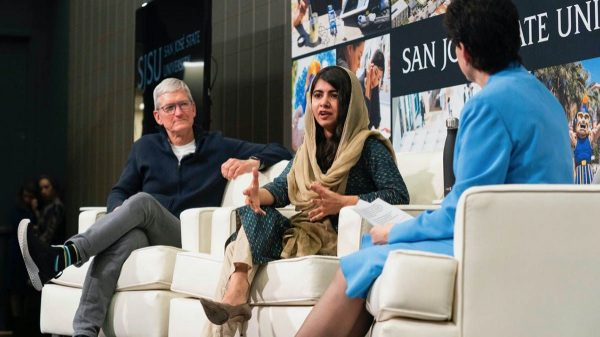 Tim Cook & Malala Fund