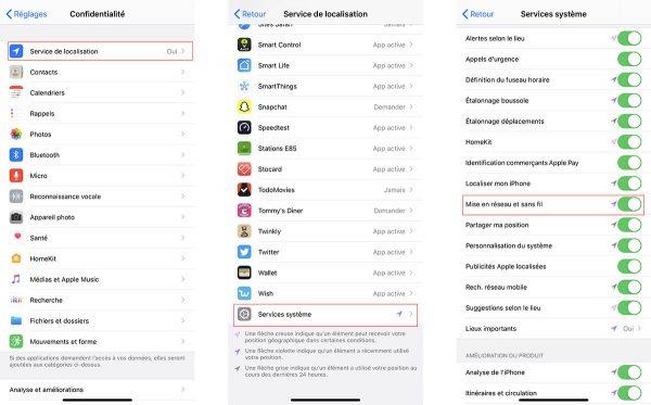iOS 13.3.1 bêta 2