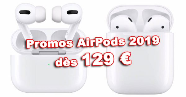 Promos AirPods 2 / AirPods Pro