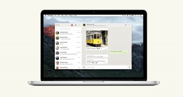 WhatsApp Mac