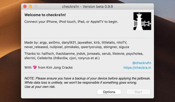 Jailbreak iOS 13.4 - Checkra1n