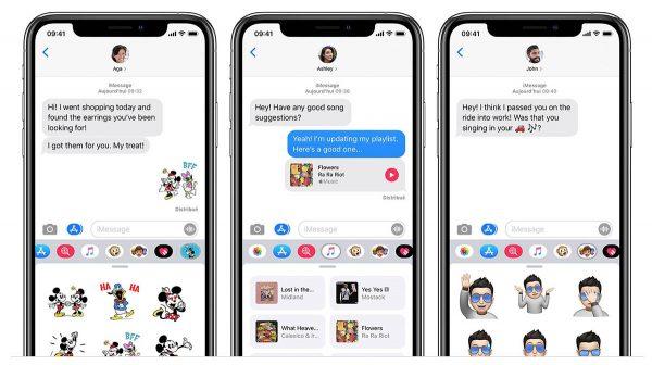 iOS 14 - iMessage