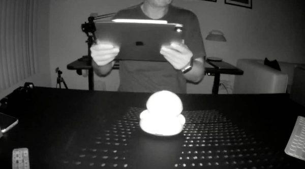 iPad Pro 2020 - scanner LiDAR