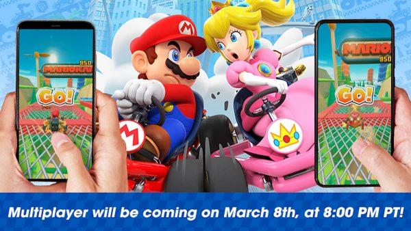 Mario Kart Tour - mode multijoueur en temps réel