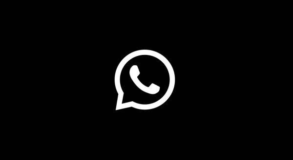 WhatsApp mode sombre