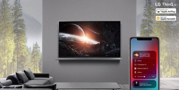 AirPlay 2 et HomeKit sur Smart TV LG 2018