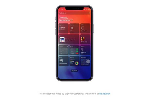 concepts iOS 14