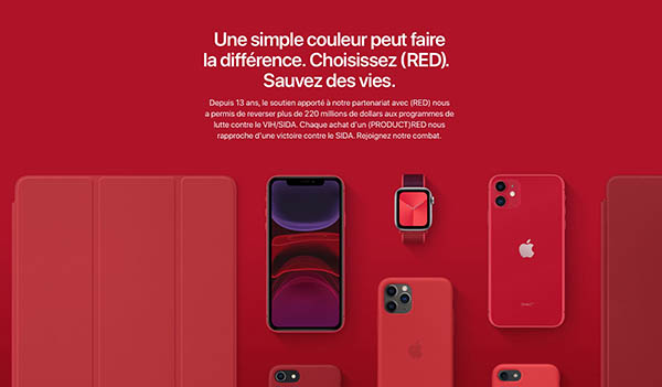 iPhone SE (RED) - COVID-19