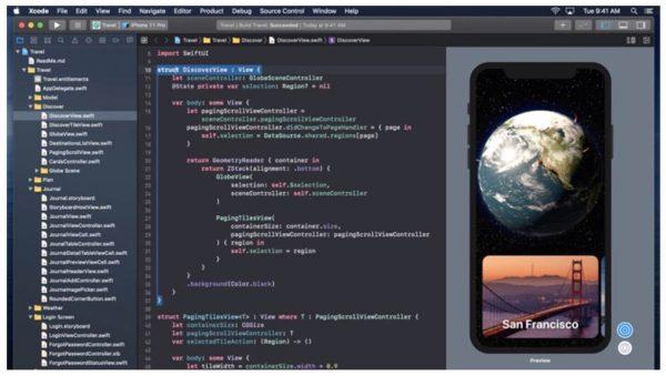 Xcode pour iPhone et iPad