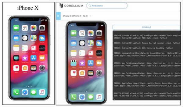 Corellium vs Apple