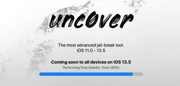 Unc0ver 5.0 : jailbreak iOS 13.5