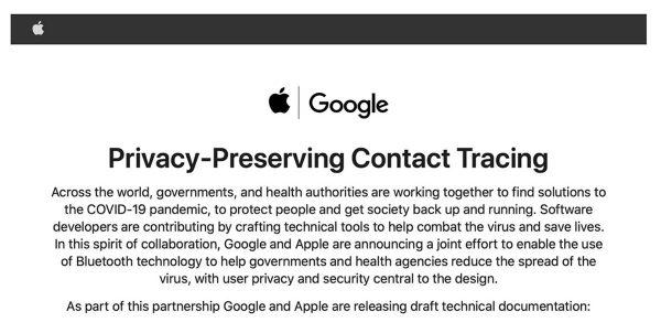 API Apple Google
