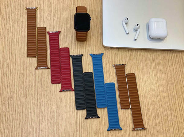 Apple Watch - bracelets cuir