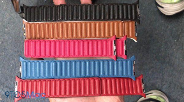 Apple Watch - bracelets cuir