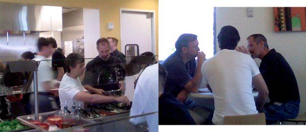 Steve Jobs, Larry Page et Eric Schmidt