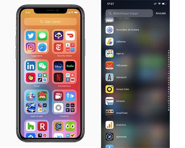 App Library - iOS 14