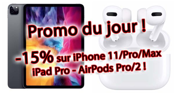 iPhone 11 - iPad Pro - AirPods Pro