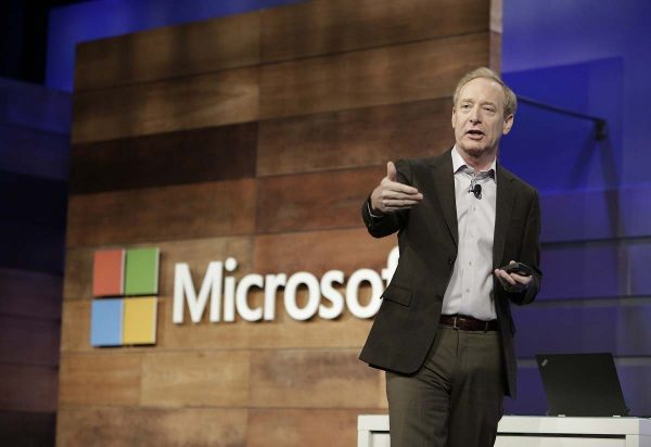 Microsoft - Brad Smith