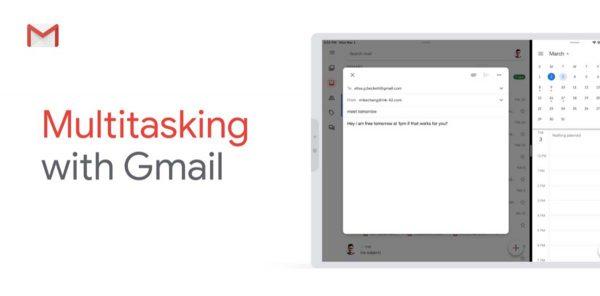 Gmail Split View