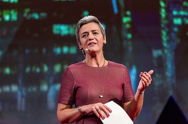 Margrethe Vestager - EU Apple