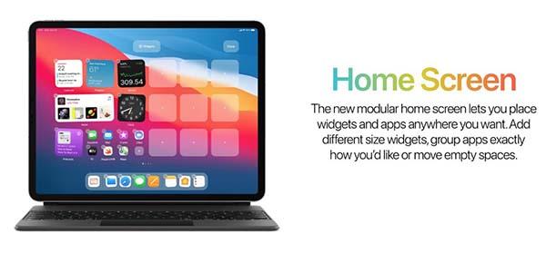 Concept iPadOS 15
