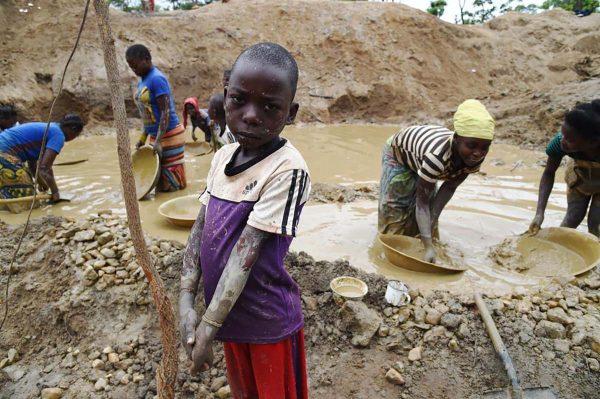 Travail enfants Congo