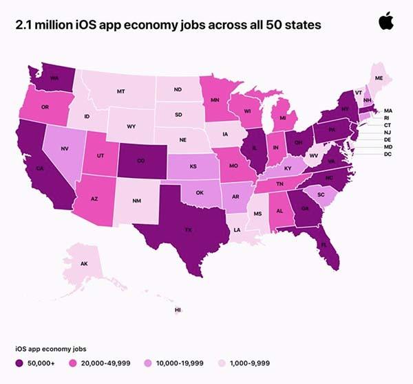 emplois App Store US