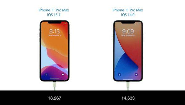 iOS 14 vs iOS 13.7