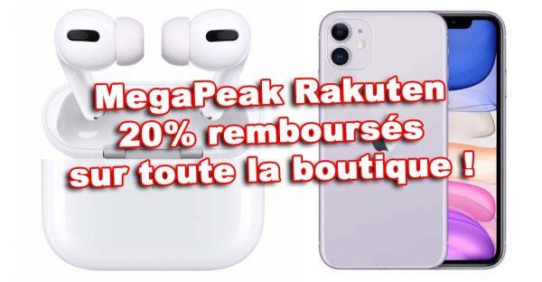 MegaPeak - promo iPhone 12