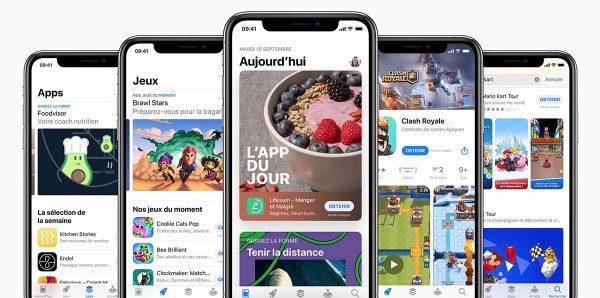 Taxe App Store