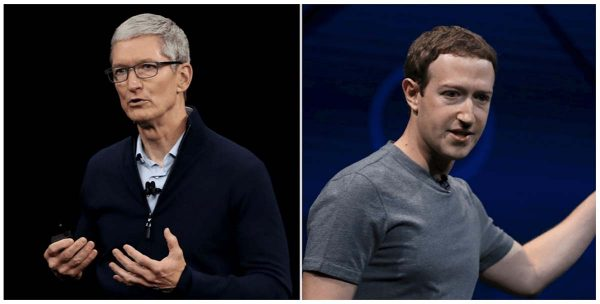 Tim Cook & Mark Zuckerberg