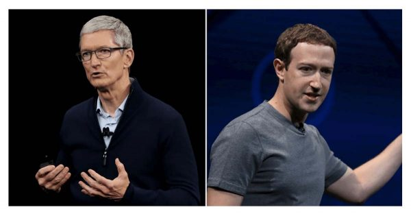 Tim Cook & Mark Zuckerberg