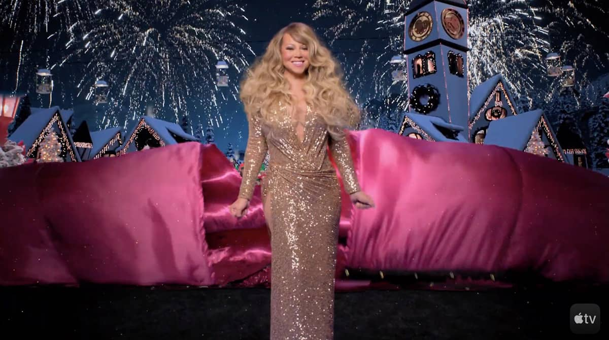 Mariah Carey Magical Christmas Special Apple Tv Plus