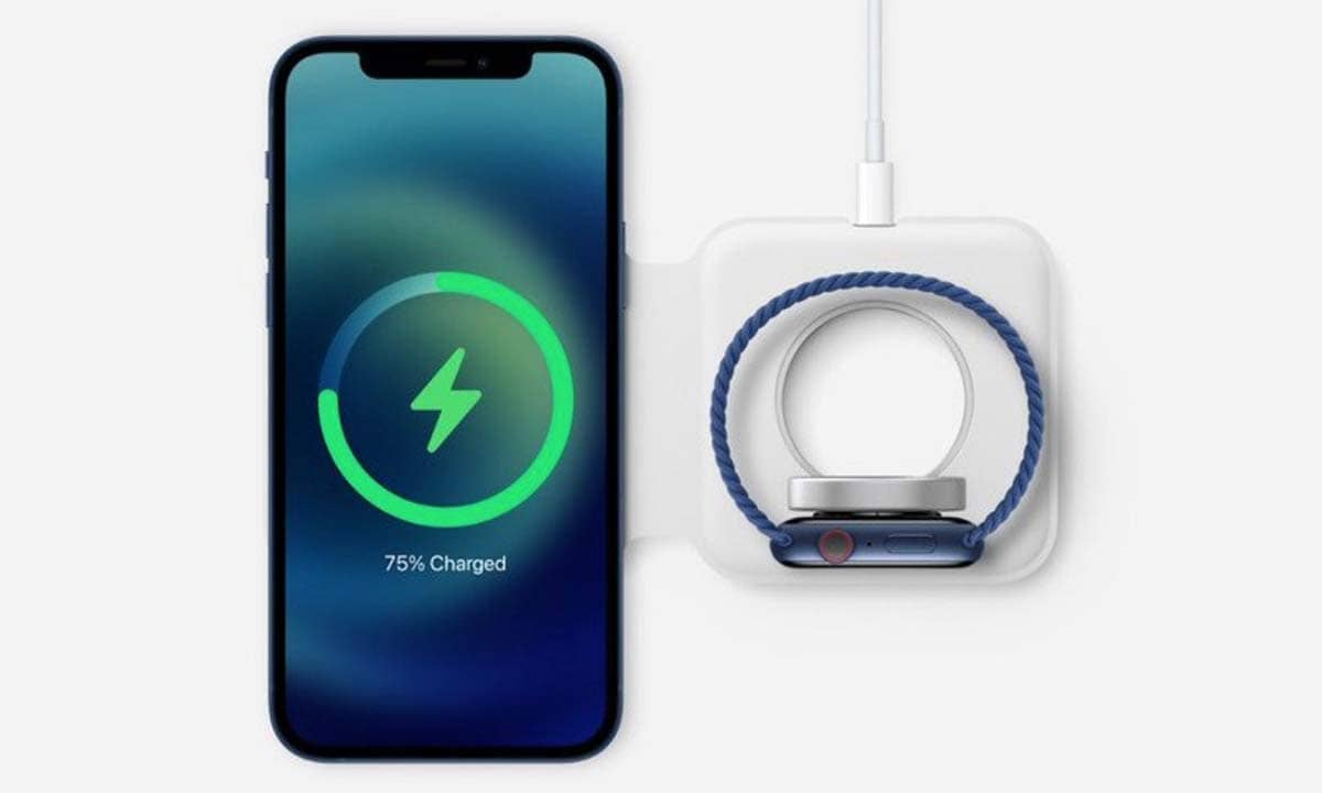 Chargeur Magsafe Duo