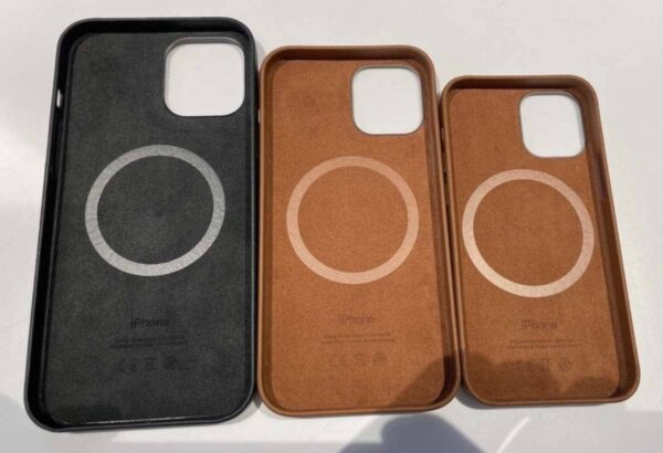Coques Cuir Magsafe IiPhone 12